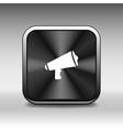 speaker icon broadcasting speak isolated scream sp vector image vector image