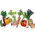 Vegetables big group cartoon vector | Price: 1 Credit (USD $1)