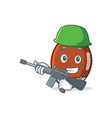 army american football character cartoon vector image vector image
