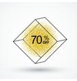 Big sales and discounts vector image