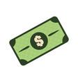 green bill dolar money vector image vector image