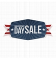 Independence Day Sale paper Label vector image