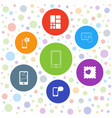 smart icons vector image vector image