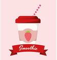 Smoothie design vector image vector image