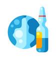 vaccination concept immunization vector image