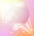 abstract pink frame background vector image
