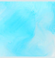 bright blue watercolor texture background vector image vector image