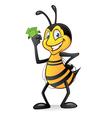 Cartoon bee with money vector | Price: 3 Credits (USD $3)