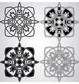 Celtic Design Elements vector image vector image