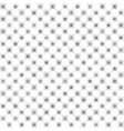 checkered star pattern seamless vector image vector image