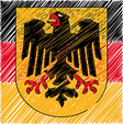 German crest vector | Price: 1 Credit (USD $1)