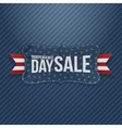 Independence Day Sale patriotic Tag vector image vector image