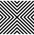 line zigzag x chevron pattern background vector image vector image