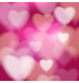 Abstract disco background valentine heart vector image vector image