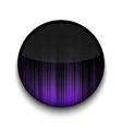 Abstract ray app icon vector image