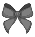Bow icon black monochrome style vector image