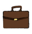 business portfolio document file paper case vector image