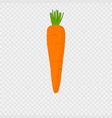 Carrot icon with shadow