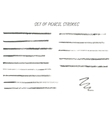 Collection of thin pencil strokes vector image vector image
