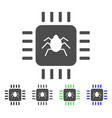 hardware bug flat icon vector image
