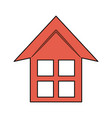 house or home icon image vector image vector image