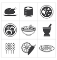 icon thai food vector image vector image