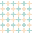 light flat geometrical seamless pattern vector image vector image