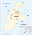 map greek island kastellorizo vector image vector image