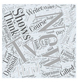 new tv shows Word Cloud Concept vector image vector image
