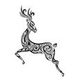 Ornament deer vector image