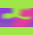 ufo green plastic pink and proton violet colors vector image vector image