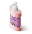 Liquid soap dispenser vector image