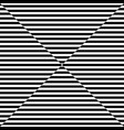 abstract black horizontal line pattern mirage on vector image vector image