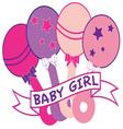 Baby Girl vector image vector image