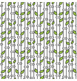 bamboo tree stem seamless pattern vector image