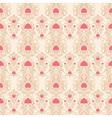 beige retro pattern vector image vector image