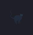 Evil Cat computer symbol vector image
