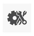 gear tool icon vector image