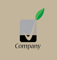 Green okay logo vector image vector image