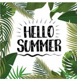 hello summer time wallpaper fun party vector image