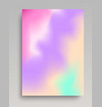light gradient vertical poster vector image
