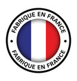 made in france flag icon vector image vector image