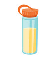 protein shaker cartoon vector image