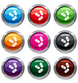 three pills set 9 collection vector image vector image