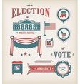 Usa election icon set vector | Price: 3 Credits (USD $3)