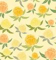 Spring wildflowers seamless pattern vector image
