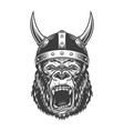 angry gorilla in monochrome style vector image vector image