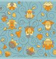 fine vintage floral seamless pattern vector image vector image