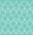 pretty leaf loop mesh pattern seamless repeating vector image vector image