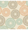 seamless pattern with lacy balls vector image vector image